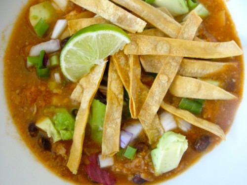 Salt-Free Tortilla Soup