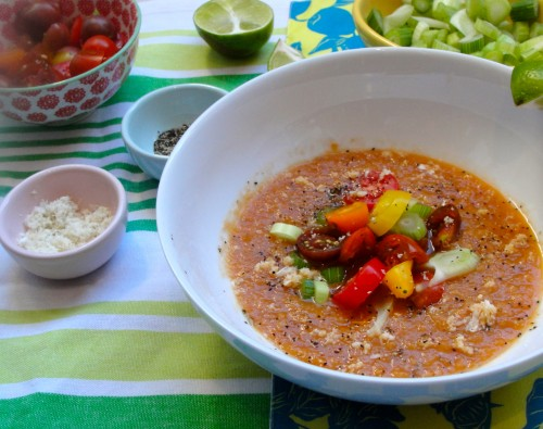 Low-Sodium Bloody Mary Soup