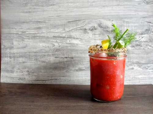 Salt-Free Beet Bloody Mary