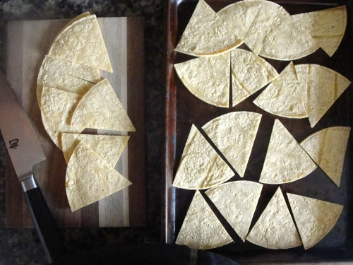 Tortillas for Chilaquiles