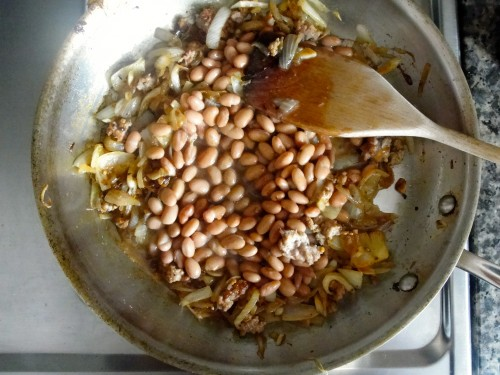 Chilaquiles Beans