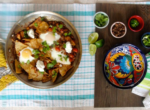 Salt-Free Chilaquiles