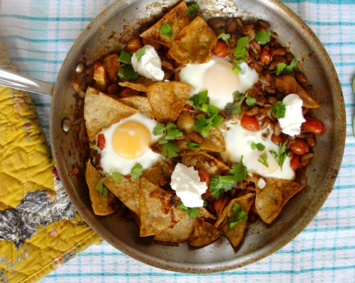 Chilaquiles Up Close
