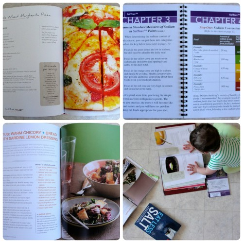 Low-Sodium Book Collage