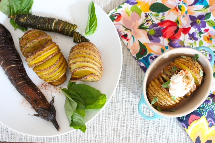 Hasselback Beauty Shot