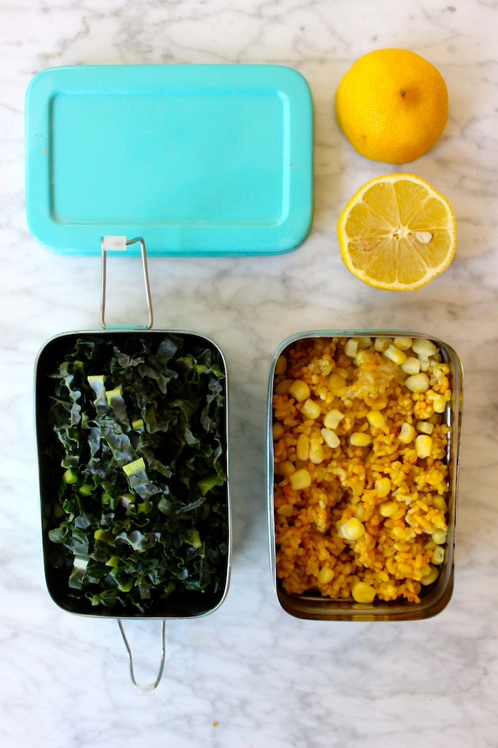 Kale and Rice and Lemon